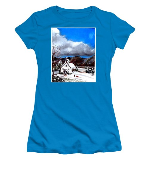Morning Snow Ministry Women's T-Shirt (Athletic Fit)