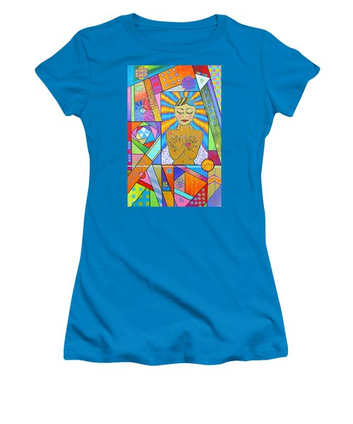 My Soul, I Carry Women's T-Shirt (Junior Cut) by Jeremy Aiyadurai