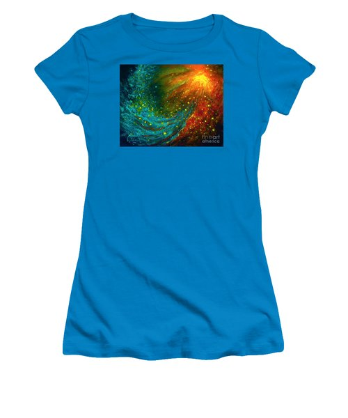 Nebulae  Women's T-Shirt (Athletic Fit)