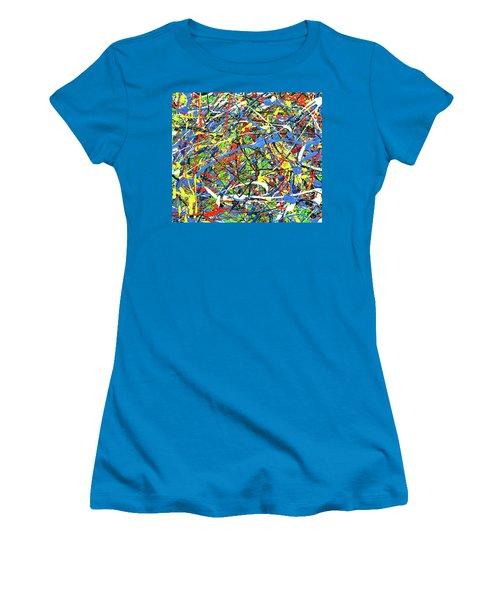 NOW Women's T-Shirt (Junior Cut) by Elf Evans
