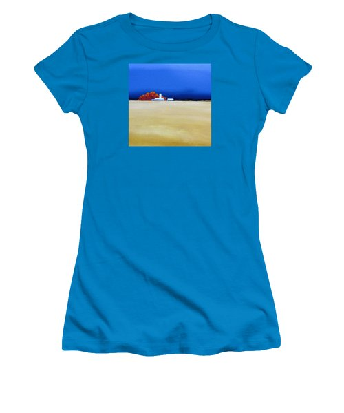 October Fields Women's T-Shirt (Junior Cut) by Jo Appleby