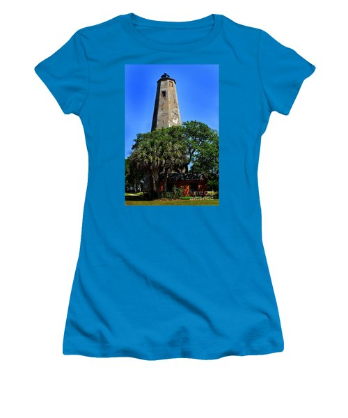 Old Baldy Lighthouse Women's T-Shirt (Athletic Fit)