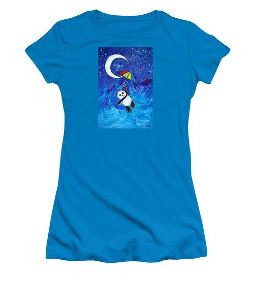 Panda Dreams Women's T-Shirt (Junior Cut)