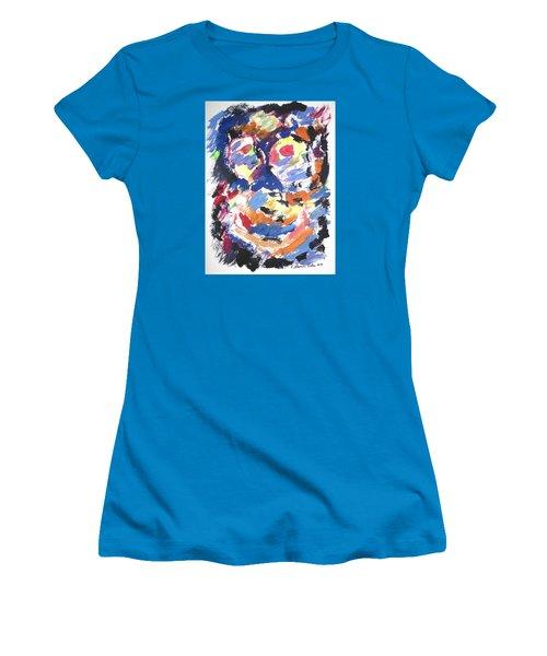 Partial Blackout Women's T-Shirt (Junior Cut) by Esther Newman-Cohen