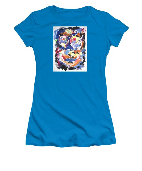 Partial Blackout Women's T-Shirt (Athletic Fit)
