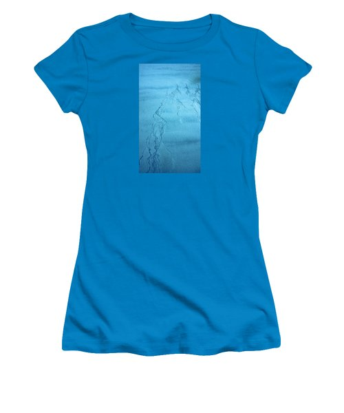 Patterns In The Sand Women's T-Shirt (Junior Cut) by Michele Cornelius