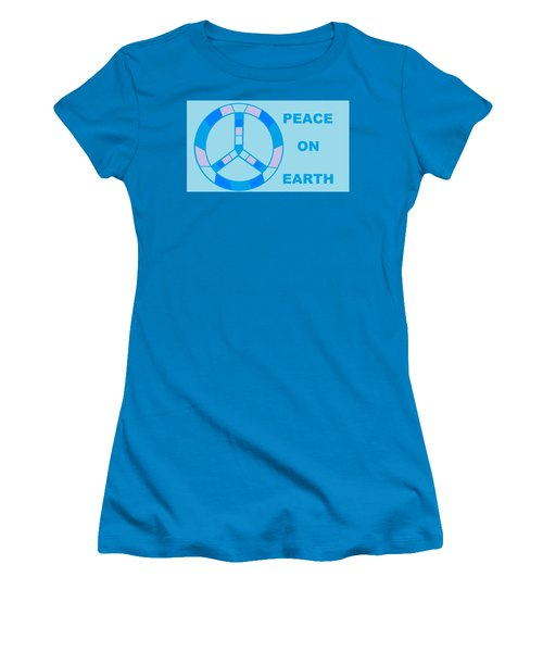 Peace On Earth 3 Women's T-Shirt (Athletic Fit)