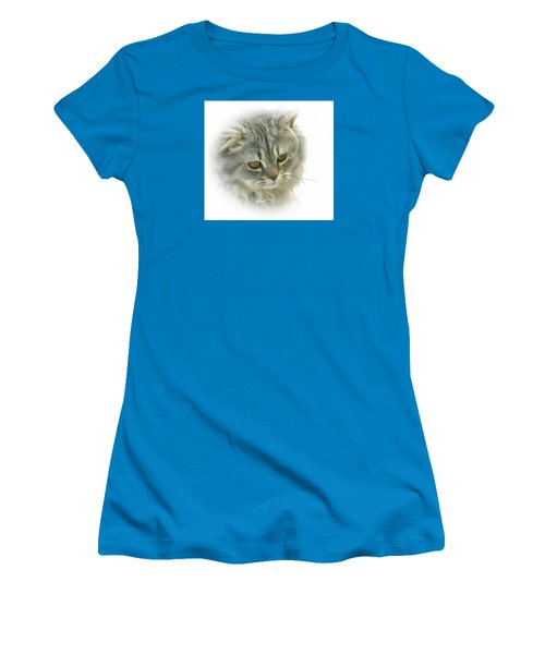 Women's T-Shirt (Junior Cut) featuring the photograph Pretty Kitty by Debbie Stahre