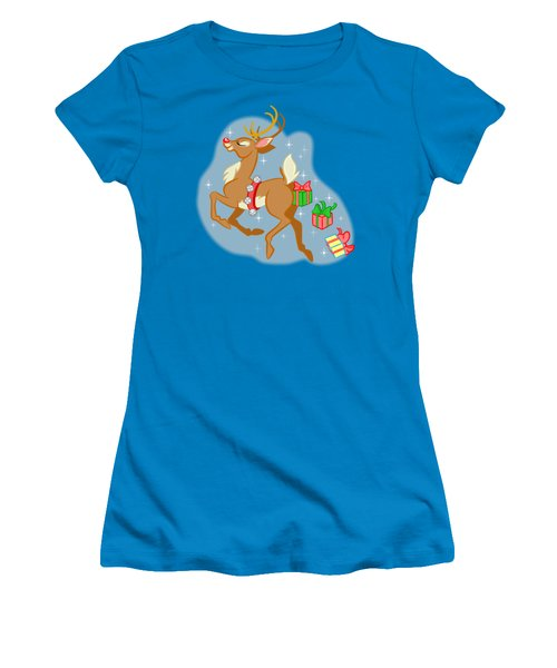 Reindeer Gifts Women's T-Shirt (Athletic Fit)