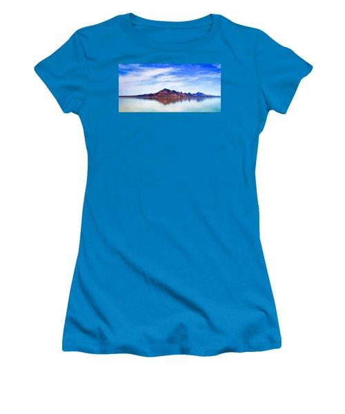 Salt Lake Mountain Women's T-Shirt (Athletic Fit)