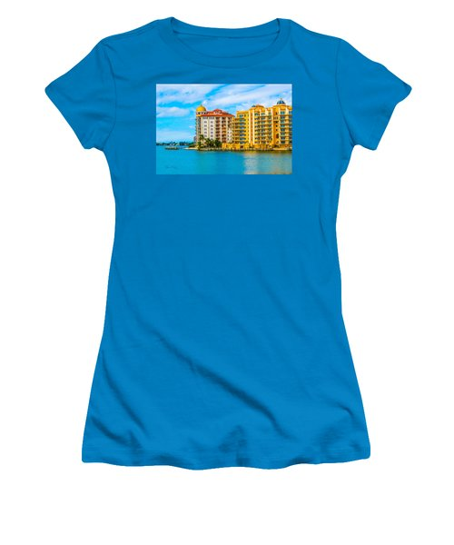 Sarasota Architecture Women's T-Shirt (Athletic Fit)