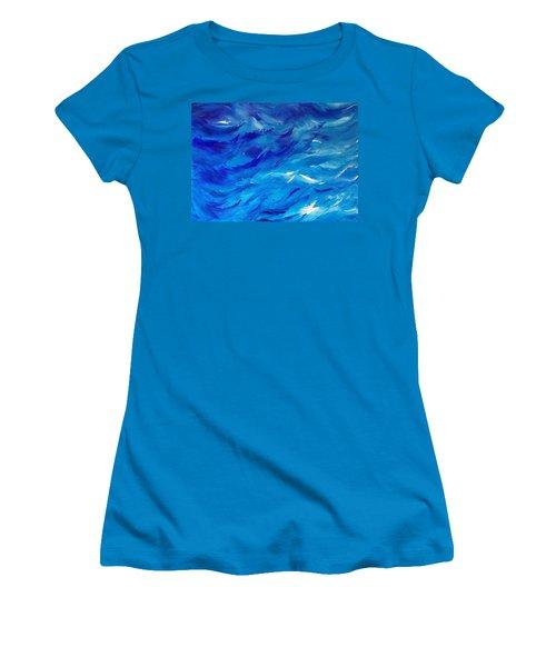Sea I Women's T-Shirt (Athletic Fit)