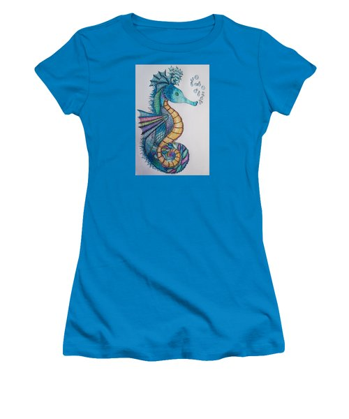 Seahorse Series 5 Women's T-Shirt (Athletic Fit)