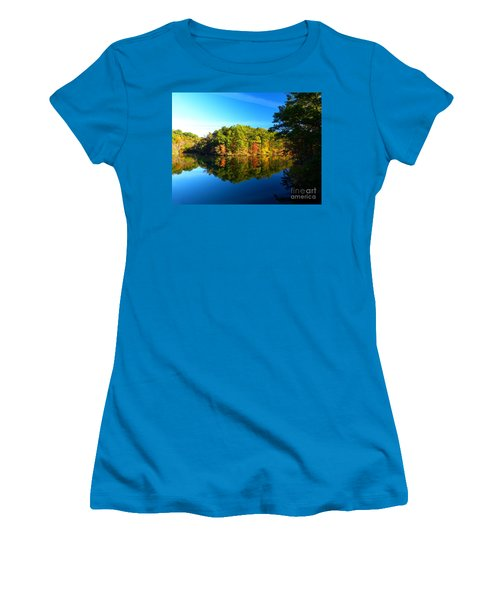 Seen From Kidds Schoolhouse Women's T-Shirt (Athletic Fit)