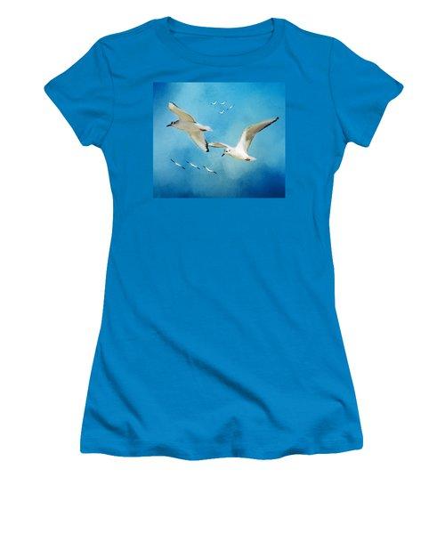Sky High Flight Women's T-Shirt (Athletic Fit)