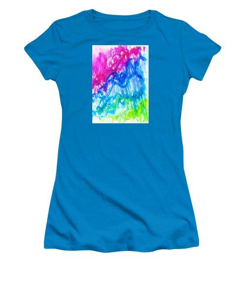 Intuition Women's T-Shirt (Junior Cut) by Martin Cline
