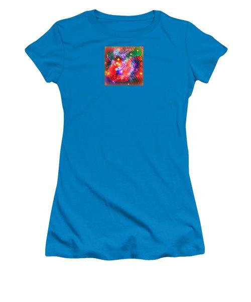Women's T-Shirt (Junior Cut) featuring the photograph Summer Morning by Robin Regan