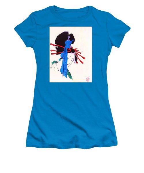 Sutekina Geisha Ni Women's T-Shirt (Athletic Fit)