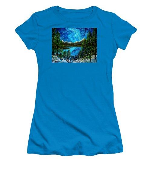 Tahoe A Long Time Ago Women's T-Shirt (Junior Cut) by Matt Konar