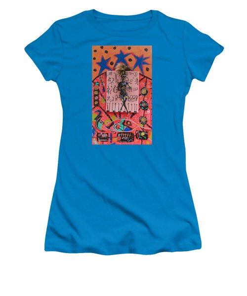 Teasel Herbal Tincture Women's T-Shirt (Junior Cut) by Clarity Artists