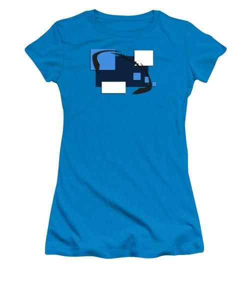 Tennessee Titans Abstract Shirt Women's T-Shirt (Junior Cut) by Joe Hamilton