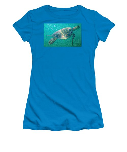 Thaddeus The Turtle Women's T-Shirt (Athletic Fit)
