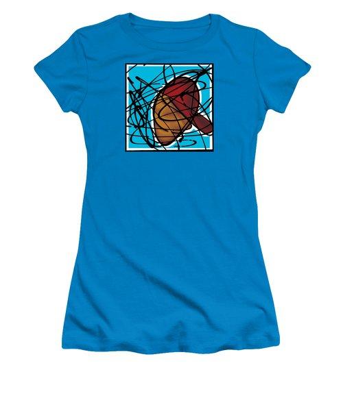 The B-boy As Icon Women's T-Shirt (Junior Cut) by Ismael Cavazos