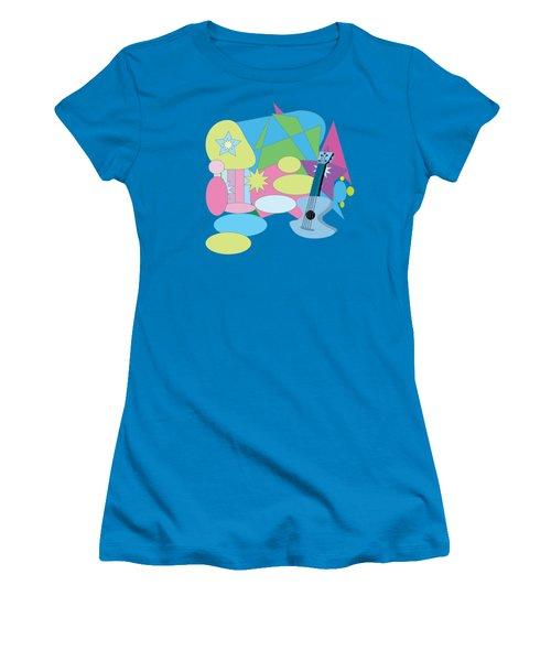 The Blues Women's T-Shirt (Athletic Fit)