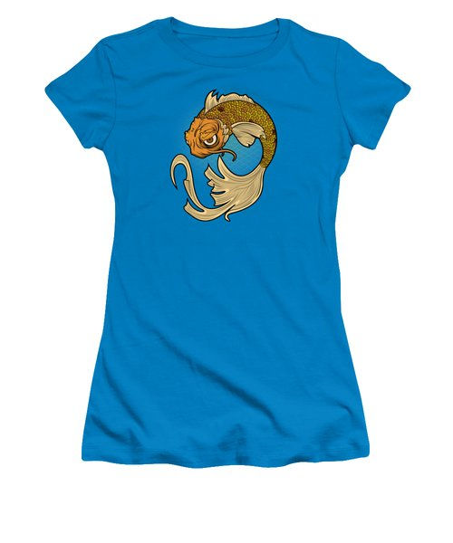 The Disgruntled Koi Women's T-Shirt (Athletic Fit)