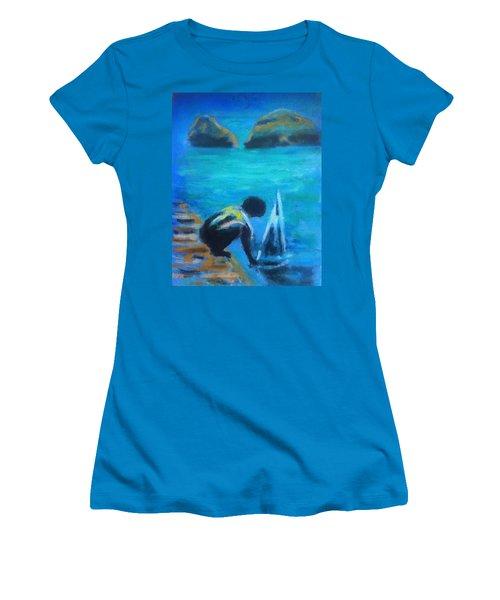 The Launch Sjosattningen Women's T-Shirt (Athletic Fit)