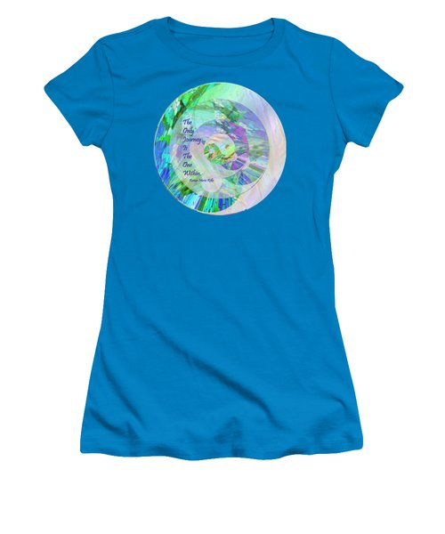 The Only Journey Women's T-Shirt (Athletic Fit)