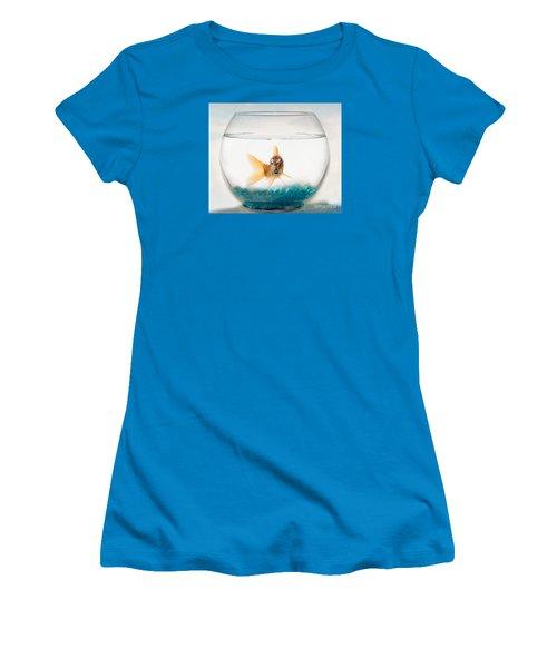 Tiger Fish Women's T-Shirt (Junior Cut) by Juli Scalzi