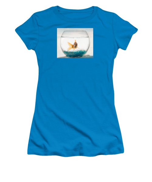 Tiger Fish Women's T-Shirt (Athletic Fit)
