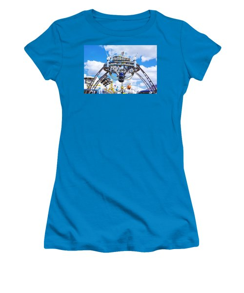 Women's T-Shirt (Junior Cut) featuring the photograph Tomorrowland by Greg Fortier