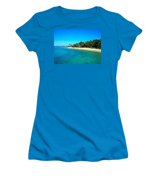 Tropical Bliss Women's T-Shirt (Athletic Fit)