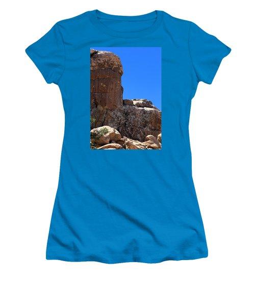 Women's T-Shirt (Junior Cut) featuring the photograph Trunk Made Of Stone by Viktor Savchenko