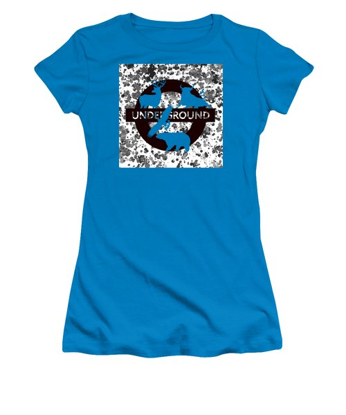 Underground.2 Women's T-Shirt (Junior Cut) by Alberto RuiZ
