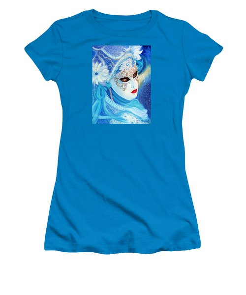 Venetian Carnival Mask 2015 Women's T-Shirt (Athletic Fit)