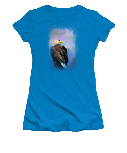 Watching Over The Heavens Women's T-Shirt (Junior Cut)