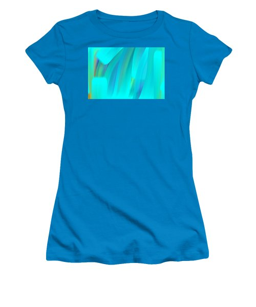 Water Women's T-Shirt (Junior Cut) by George Pedro