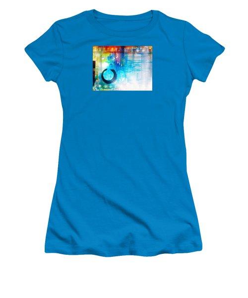 Wave Women's T-Shirt (Junior Cut) by France Laliberte