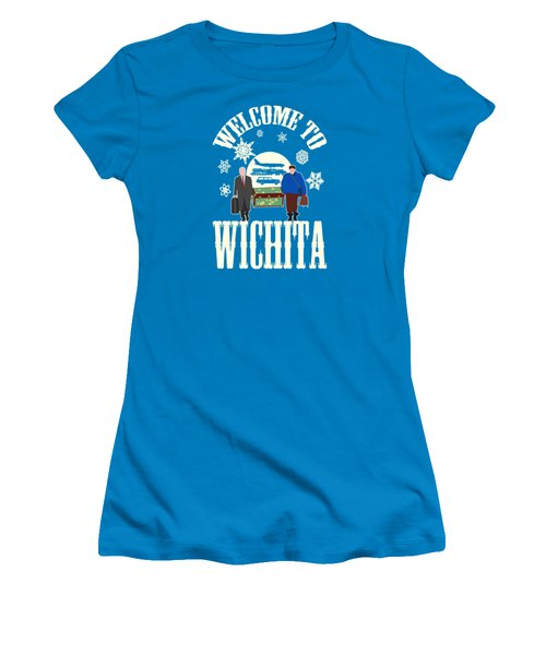 Welcome To Wichita  Women's T-Shirt (Athletic Fit)
