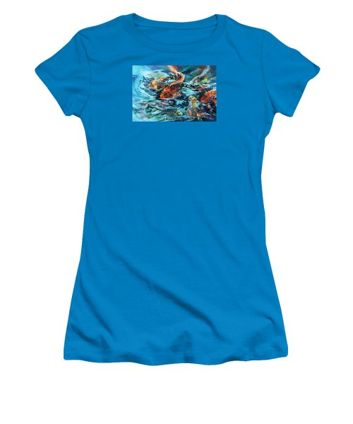 Whirling Dervish Women's T-Shirt (Junior Cut) by Rae Andrews
