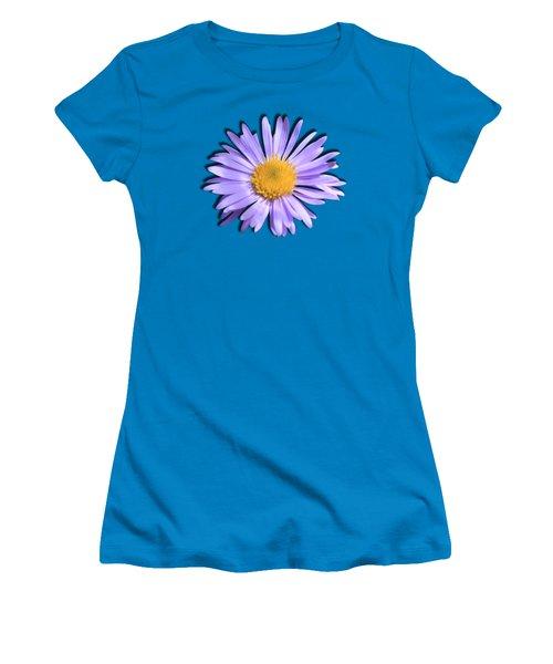 Wild Daisy Women's T-Shirt (Junior Cut) by Shane Bechler