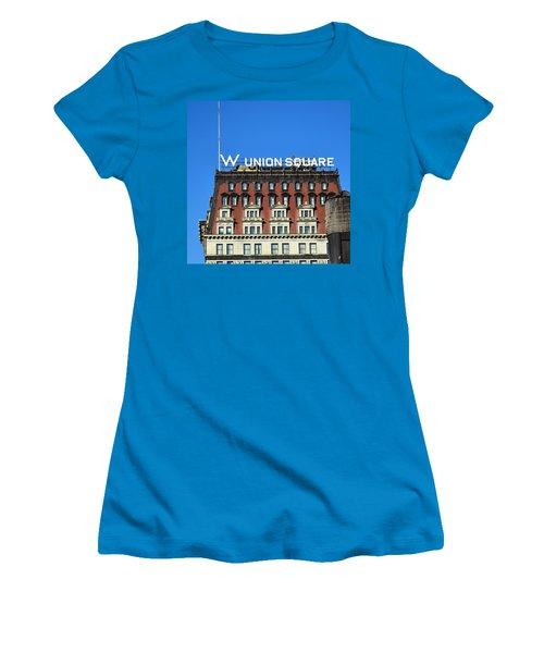 Wunion Women's T-Shirt (Junior Cut) by Sandy Taylor