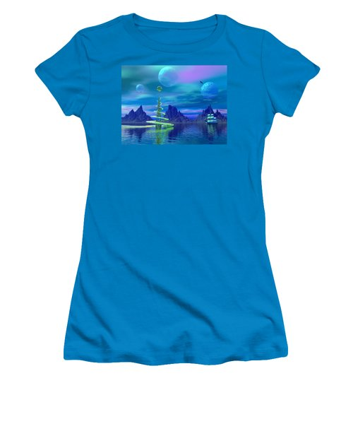 Women's T-Shirt (Athletic Fit) featuring the photograph Xyxus by Mark Blauhoefer