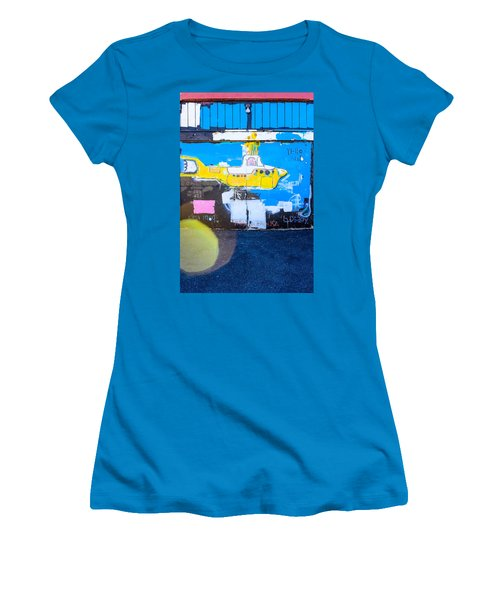 Yello Sub Women's T-Shirt (Junior Cut) by Colleen Kammerer