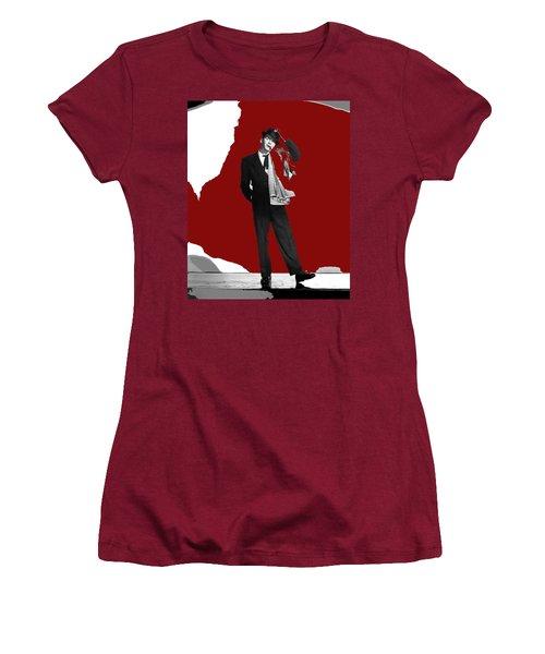 Frank Sinatra Pal Joey Publicity Photo 1957-2014 Women's T-Shirt (Athletic Fit)