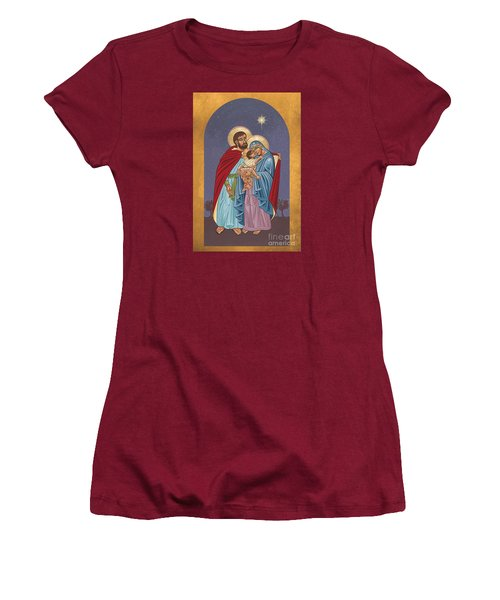 The Holy Family For The Holy Family Hospital Of Bethlehem 272 Women's T-Shirt (Junior Cut) by William Hart McNichols