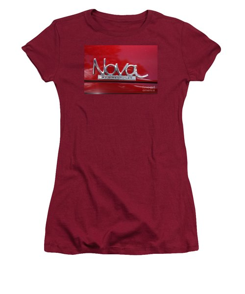 1970 Chevy Nova Logo Women's T-Shirt (Athletic Fit)